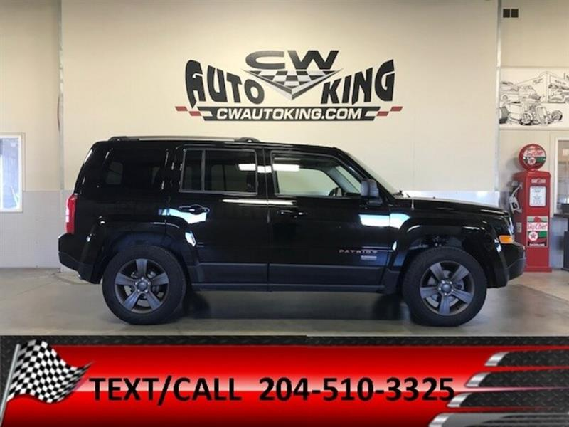 2016 Jeep Patriot 75 Anniversary / 4x4 /Heated Leather/Roof #20042493
