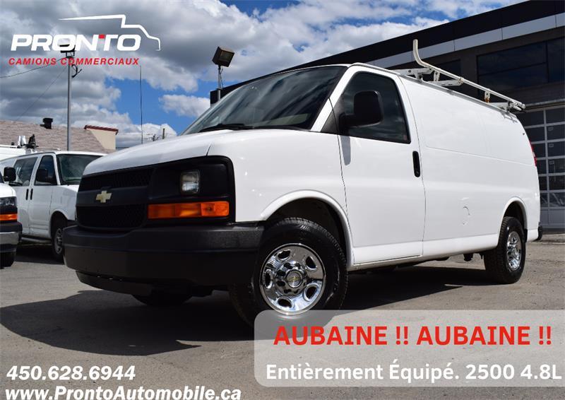 2012 Chevrolet Express Cargo Van 2500 ** Full rack ** Voir équipement **  #1957