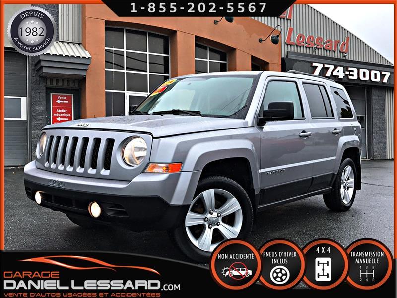 Jeep Patriot 2014 4X4 NORTH MANUELLE, SIÈGES CHAUFFANT,  #49595