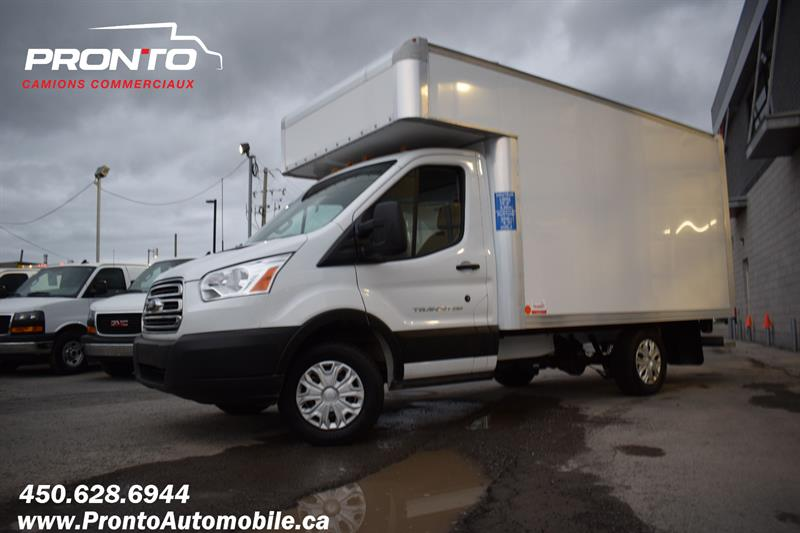 Ford Transit Cutaway 2019 T-250 Cube 12 pieds deck ** Comme neuf **  #F-1994
