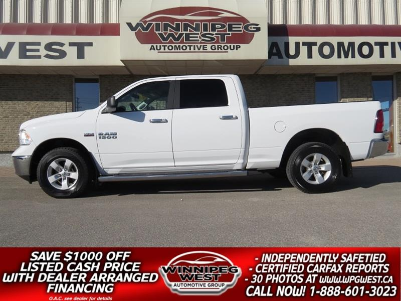 2017 Dodge Ram 1500 SLT CREW HEMI V8 4X4, LOADED, AMAZING SVC HISTORY #GW5234A