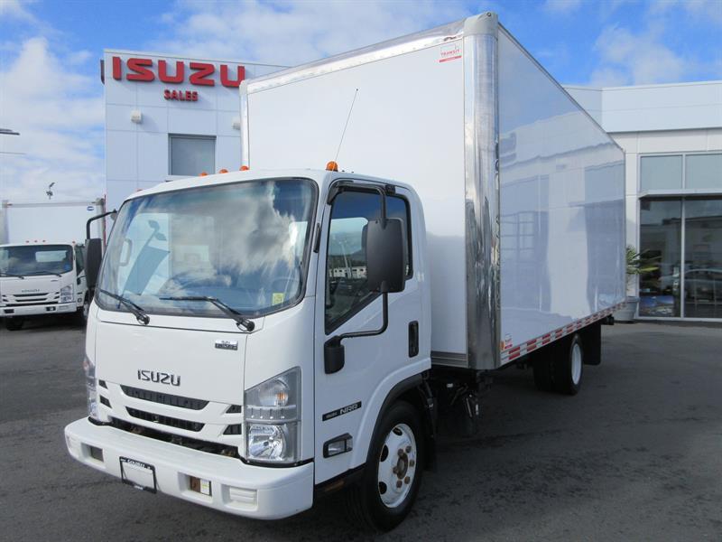 2017 Isuzu NRR 19,500 GVW 20' 8'H Van