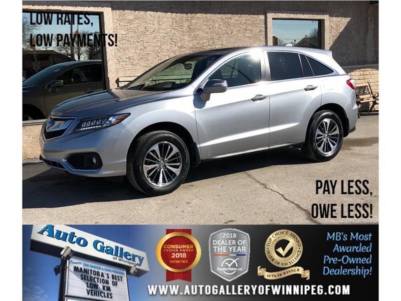 2017 Acura RDX Elite PKG *AWD/Htd Lthr/Navi/Bluetooth #23791
