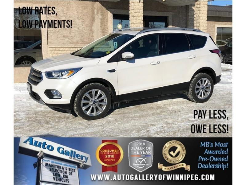 2017 Ford Escape Titanium *AWD/Htd Lthr/Pano Roof/Navi #23647