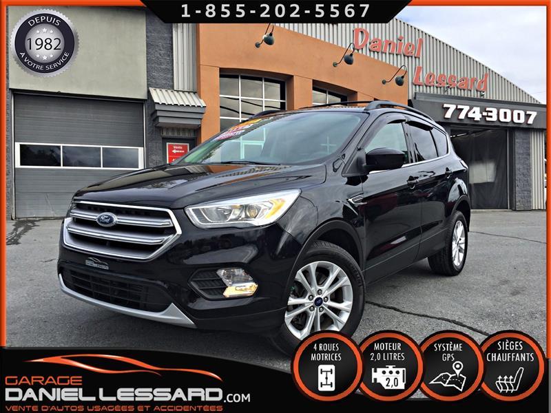 Ford Escape 2017 SE, AWD, GPS, CAM RECUL, HAYON MEC, MAG 17 P #79622