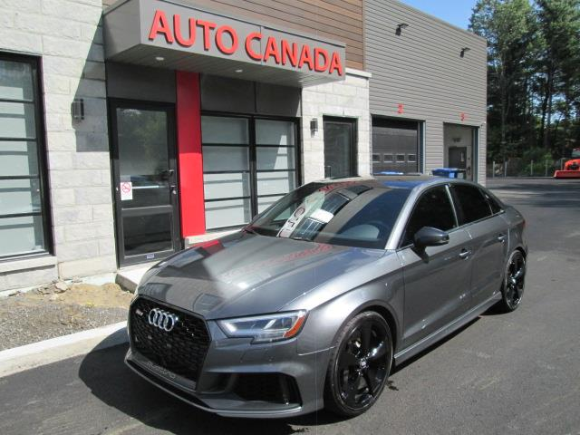Audi RS 3 Sedan 2018 tech pkg, rs sport pkg, rs exhaust, diamond seat++ #6404