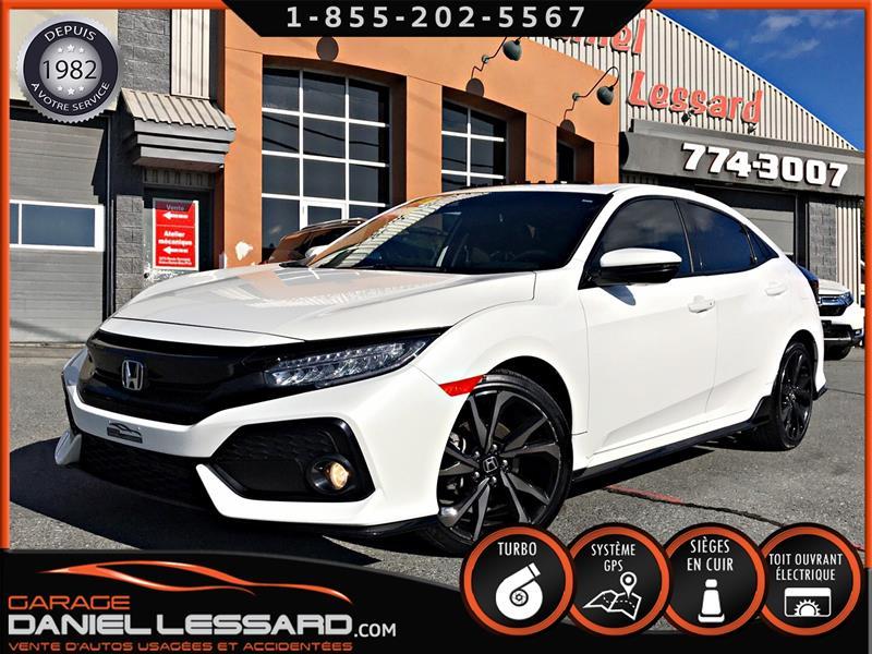 Honda Civic Hatchback 2017 *BAS KM* TOURING SPORT, FULL EQUIPE, TURBO 1.5 L #79626