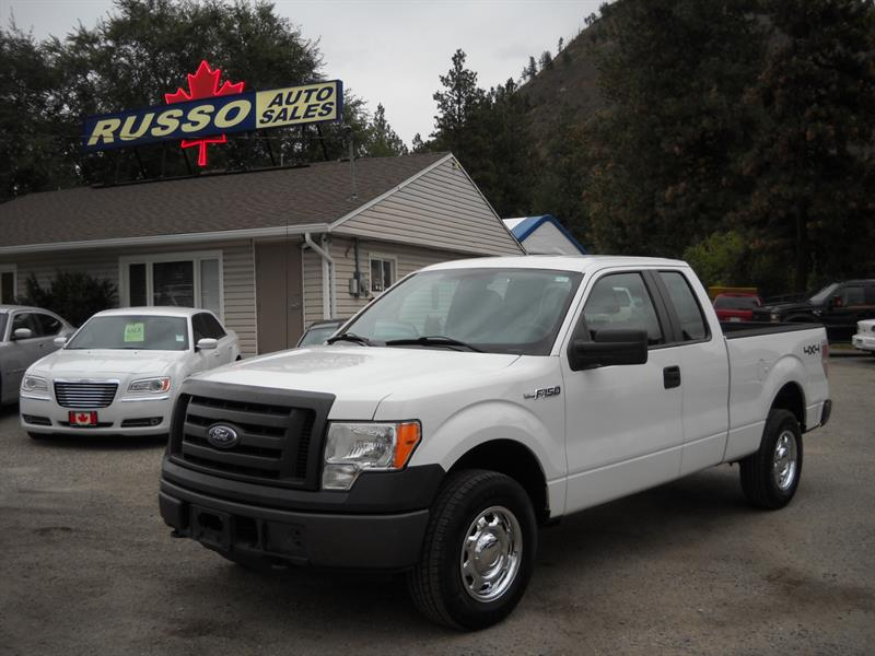 2010 Ford F-150 XL SUPERCAB  4X4....SOLD.... #3434