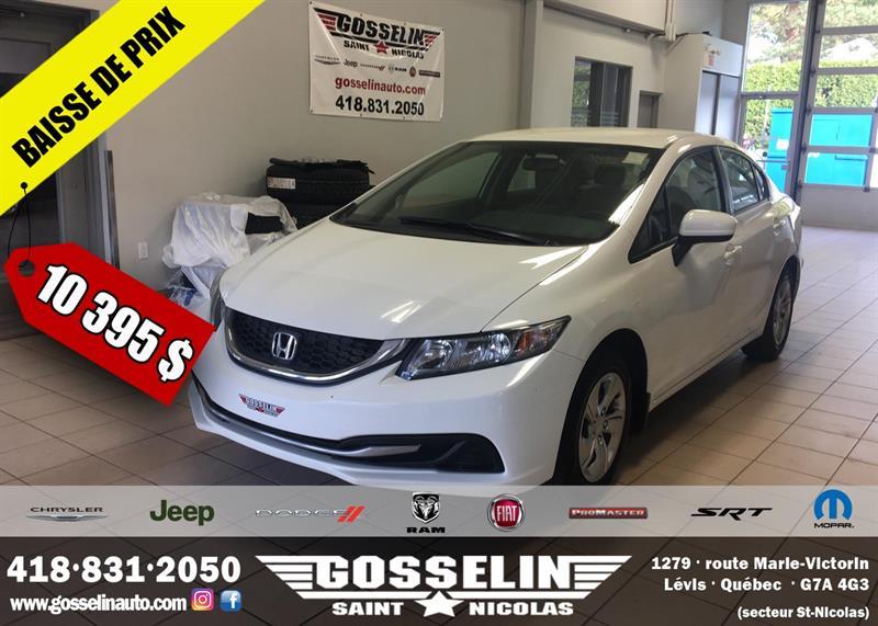 Honda Civic Sedan 2014  LX #0961A