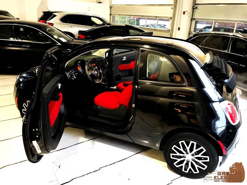 2012 Fiat 500c 500c CONVERTIBLE AIR CONDITIONING CRUISE AM/FM  #T377540
