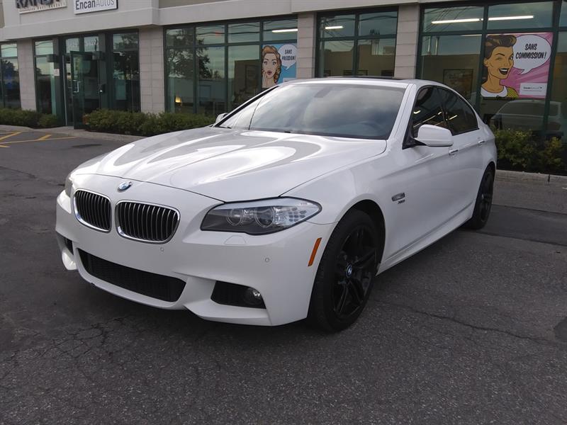 BMW 5 Series 2012 535i xDrive *Navi - Cam - M Pack*  #594