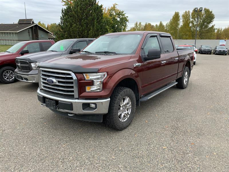 2017 Ford F-150 4WD SuperCrew #PG11613A