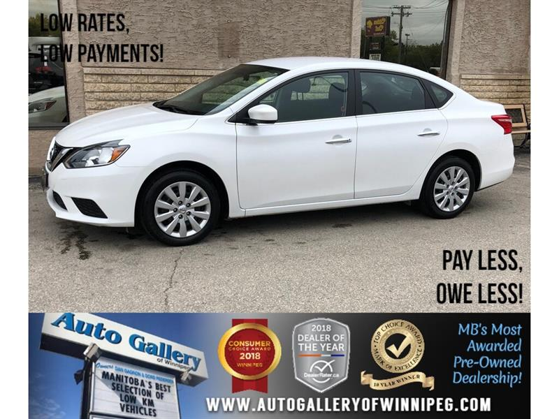 2018 Nissan Sentra S *Bluetooth/Backup Camera #24125