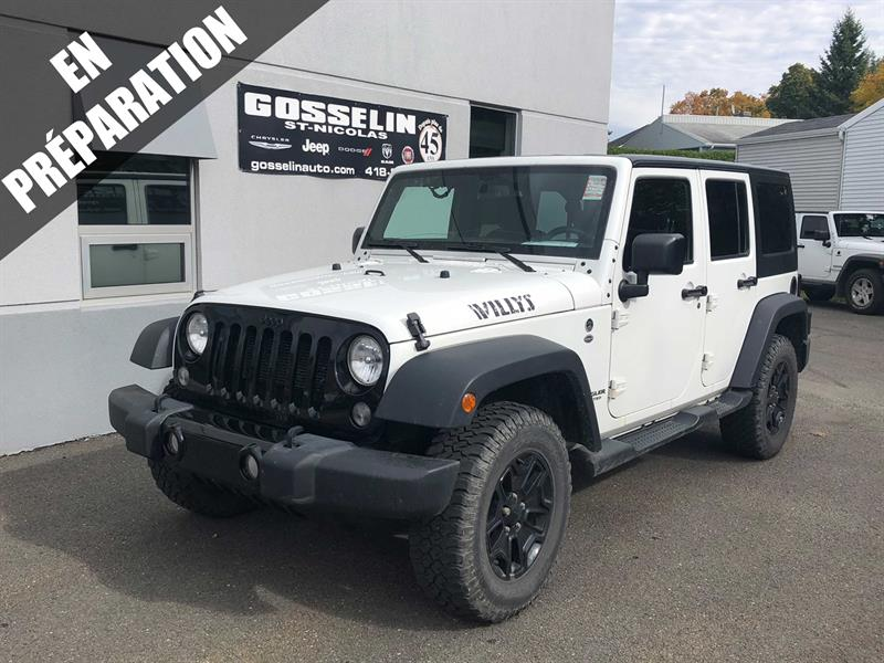 Jeep Wrangler Unlimited 2016 4WD 4dr Willys Wheeler #D4868B