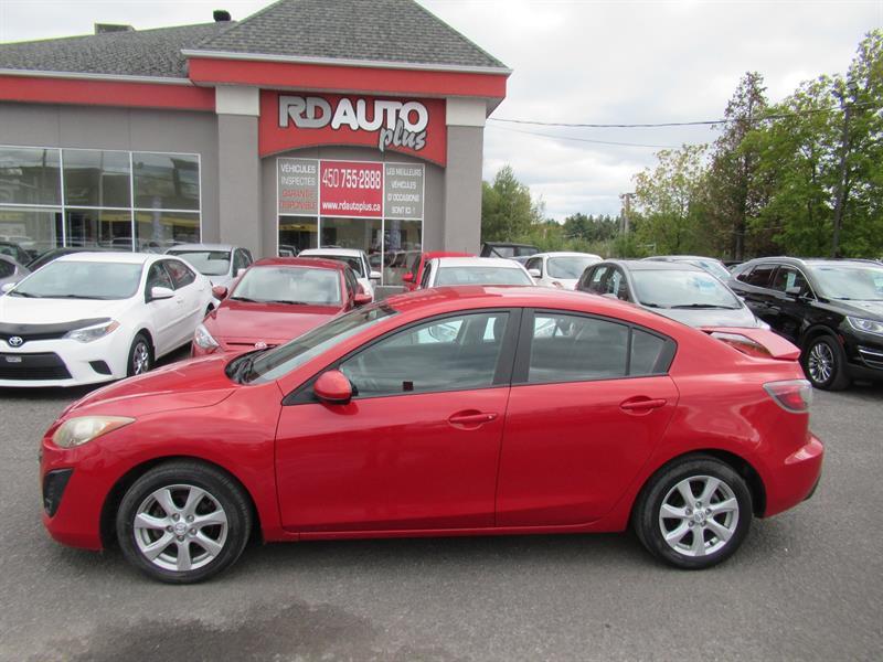 Mazda Mazda3 2011 4dr Sdn GX #10794