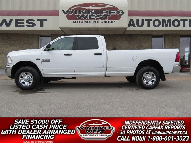 2014 Dodge Ram 3500 SLT CREW 6.4L HEMI 4X4, 8FT BOX, CLEAN & SHARP!! #GW5230A