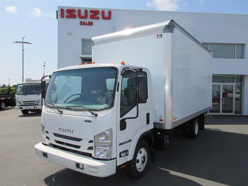 2020 Isuzu NPRHD 14,500 GVW 16' 7'6 Collins Van