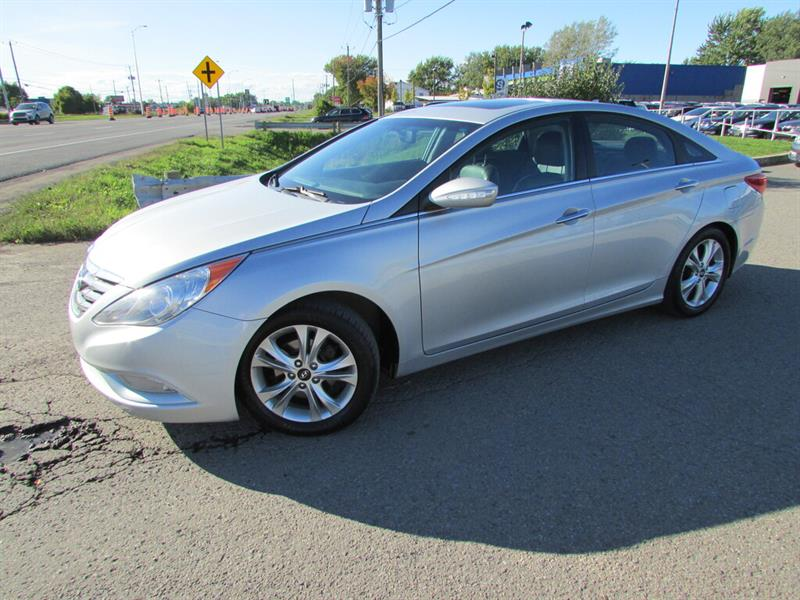 Hyundai Sonata 2011 LIMITED 2.0T A/C CRUISE BLUETOOTH!!! #4836