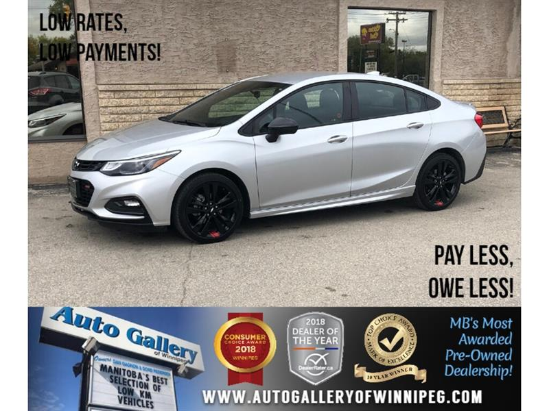 2018 Chevrolet Cruze LT *Bluetooth/Back. Cam/Htd Seats #24129