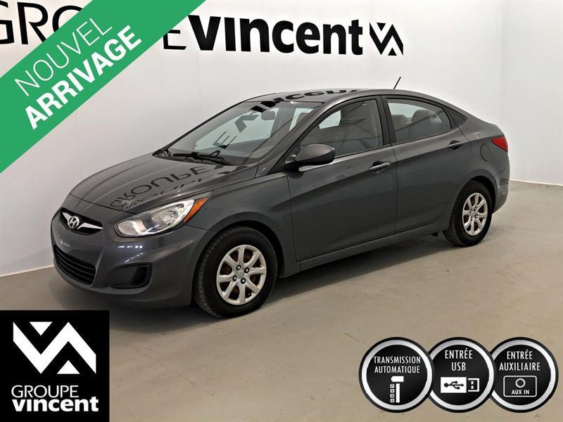 Hyundai Accent 2012 L AUTOMATIQUE ** GARANTIE 10 ANS ** #2238AT
