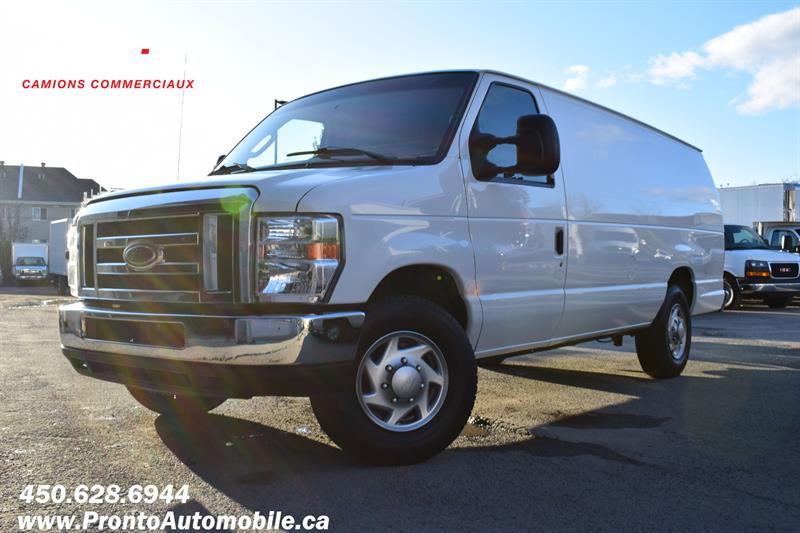 Ford Econoline Cargo Van 2013 E-250 Ext/Allongé ** 5 PASSAGERS ** RARE ** #1104