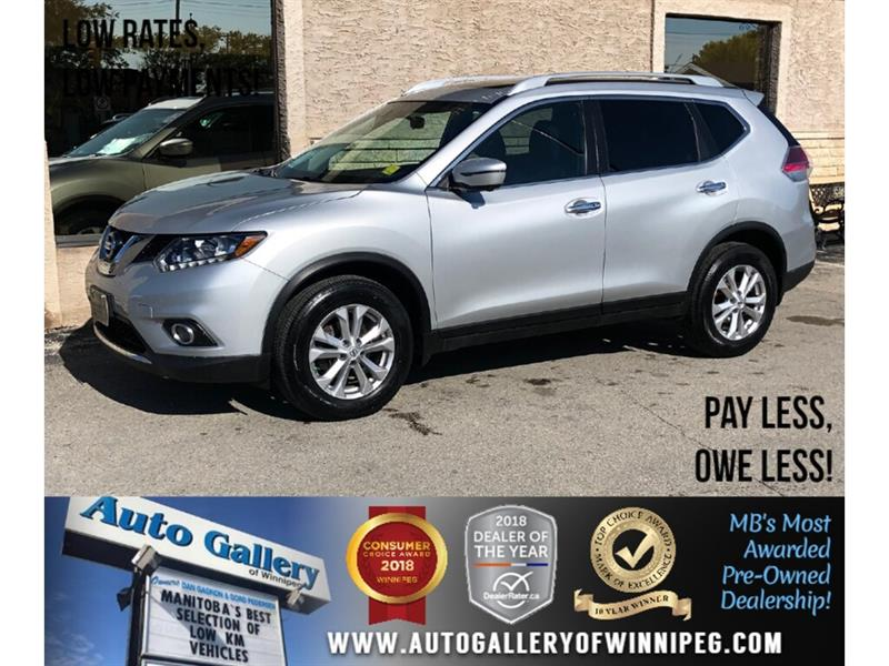 2016 Nissan Rogue SV *AWD/Navi/B.tooth/Htd Seats/Pano Roof #23989