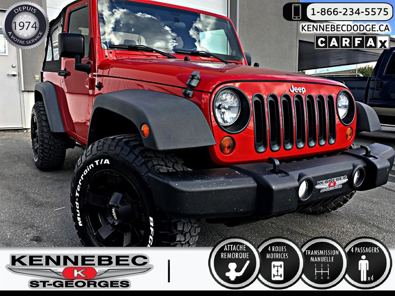 Jeep Wrangler 2011 4WD 2dr Sport #39298A