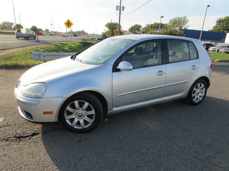Volkswagen Rabbit 2009 MAN. Comfortline A/C !!! #4848A
