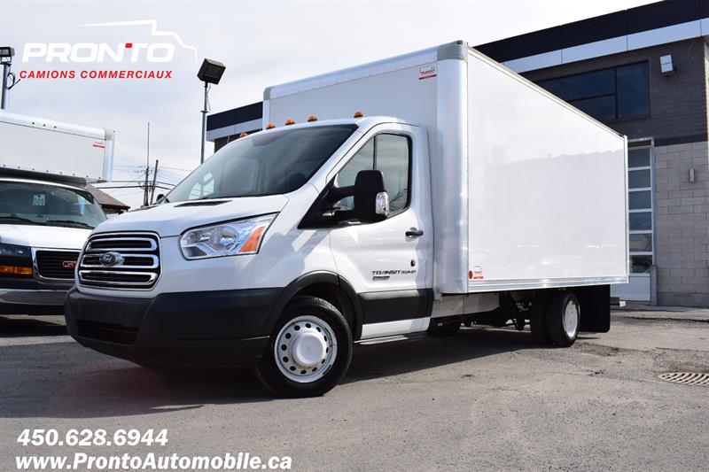 Ford Transit Cutaway 2016 T-350 ** CUBE 16 PIEDS ** PAS D'INSPECTION** #1109