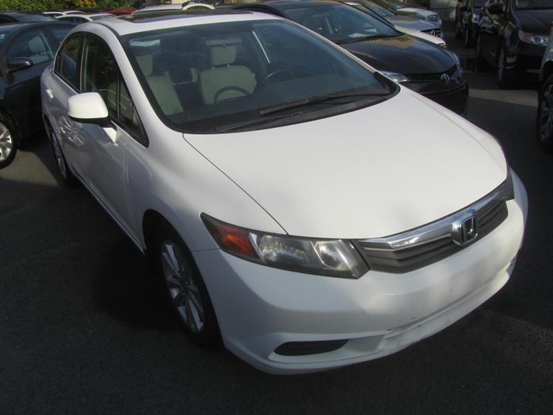 Honda Civic 2012 EX TOIT OUVRANT #4465A