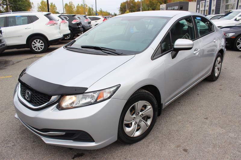 Honda Civic Sedan 2014 LX  #5299