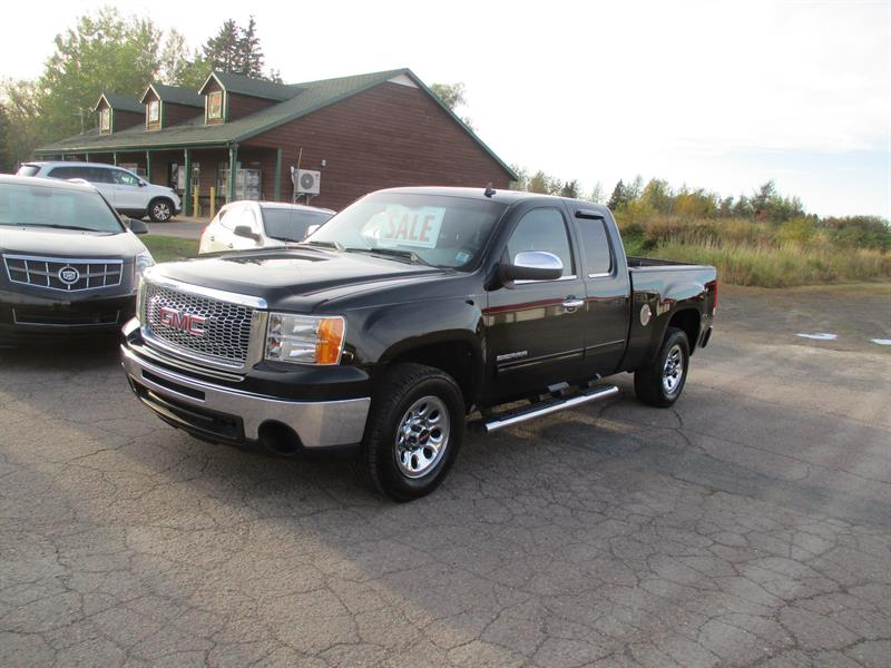 2011 GMC Sierra 1500 2WD Ext Cab 143.5 SL Nevada Edition #380892
