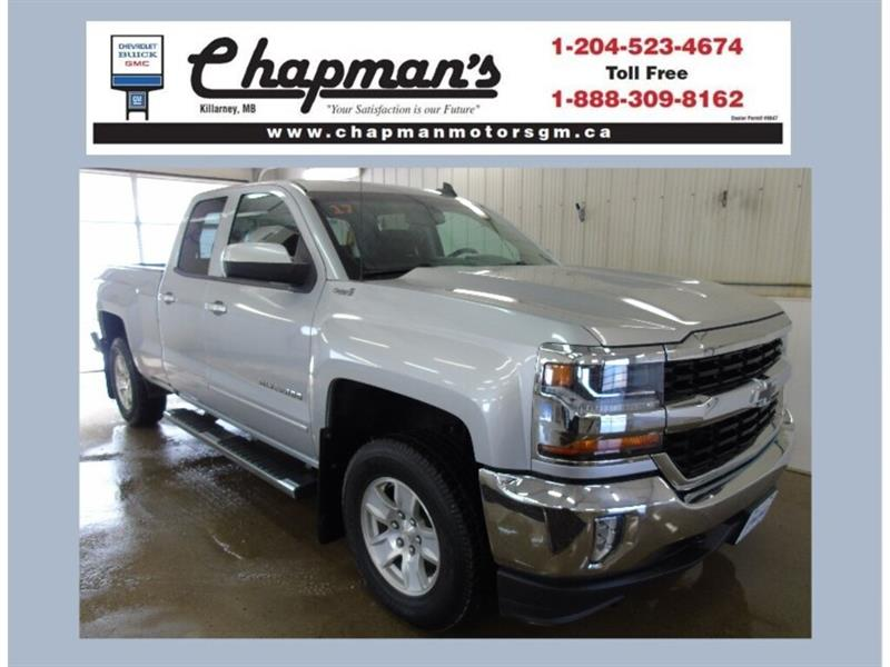 2017 Chevrolet Silverado 1500 LT, Trailering Package, Heated Seats #19-046A