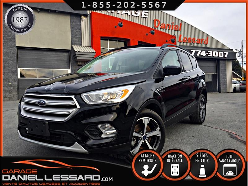 Ford Escape 2018 SEL, 4WD, TOIT PANO, GPS, HITCH, MAG 18 P ET PLUS #89653