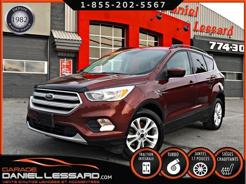 Ford Escape 2018 SE AWD ECOBOOST 1.5 L, BIEN ÉQUIPÉ, LÉGER DOMMAGES #89630