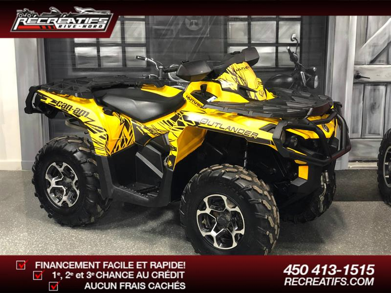 Can-am Outlander 650 2016