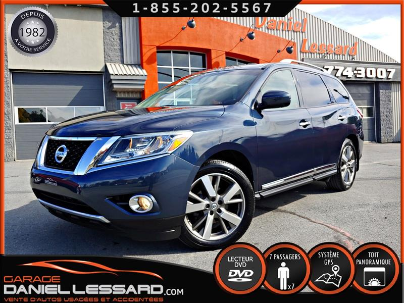 Nissan Pathfinder 2014 7 PLACES, CUIR, TOIT, GPS, CAM 360 FULL LOAD #49512