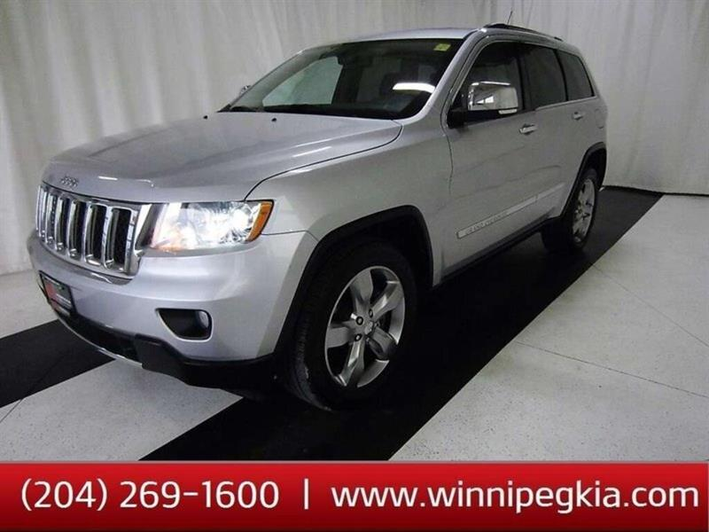 2011 Jeep Grand Cherokee Overland 4dr 4WD Sport Utility Vehicle #19SR515A