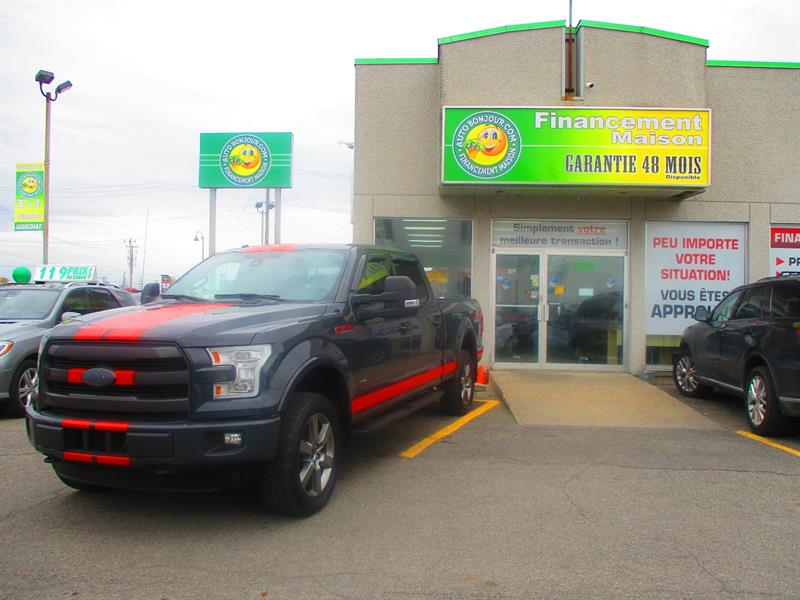 Ford F-150 2016 4WD SuperCrew #19-235