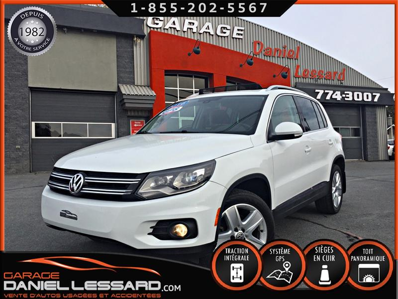 Volkswagen Tiguan 2016 CUIR, TOIT PANO, GPS, 4 MOTION, MAG, SON FENDER ++ #69645