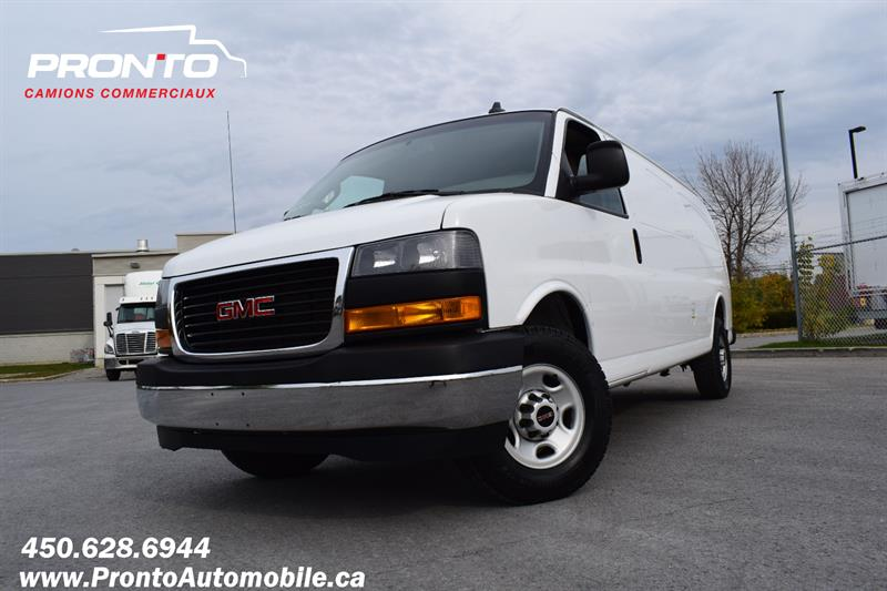 GMC Savana Cargo Van 2019 RWD 2500 155 Allongé ** Camera ** V6 ** #V1122