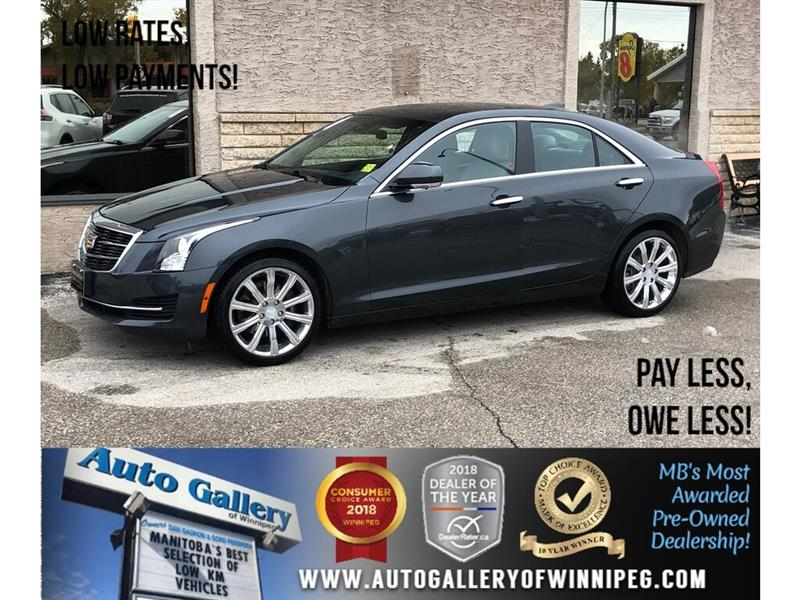 2015 Cadillac ATS Luxury *1 Owner/AWD/Navi/B.tooth/Htd Lthr/Roof #PR-24128