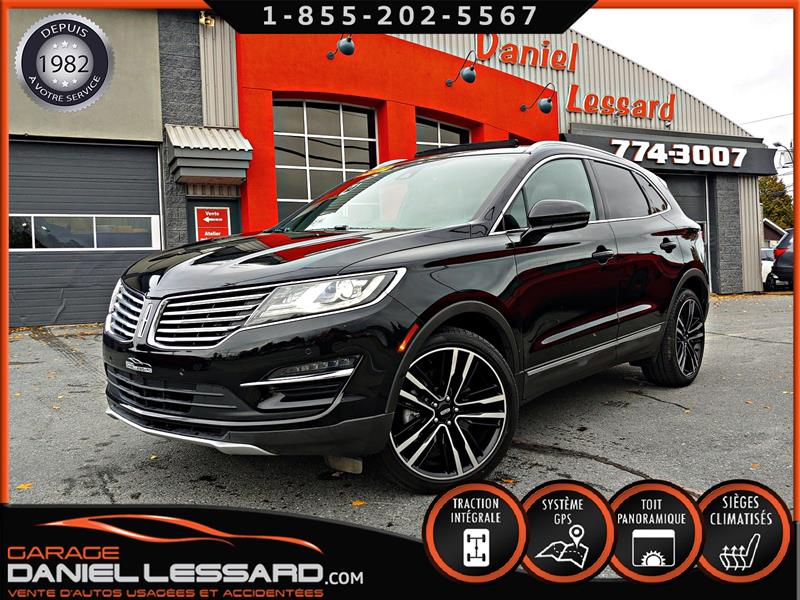 Lincoln MKC 2017 ULTRA, 2.3 TURBO,CUIR, TOIT PANO, GPS, FULL !! #78382