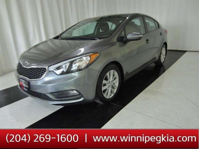 2015 Kia Forte LX+ *Always Owned In Manitoba!* #15KF08627