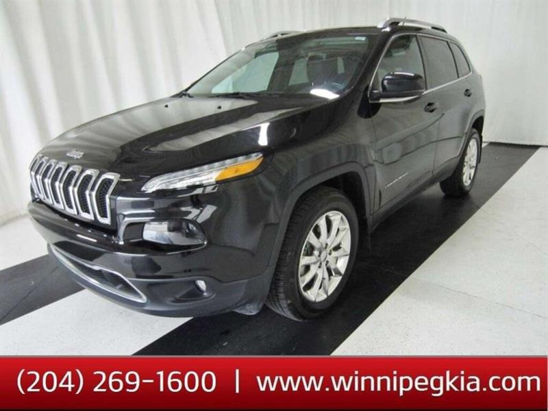 2015 Jeep Cherokee Limited *Loaded w/ Pano. Roof, Navi. And More!* #19SR283A