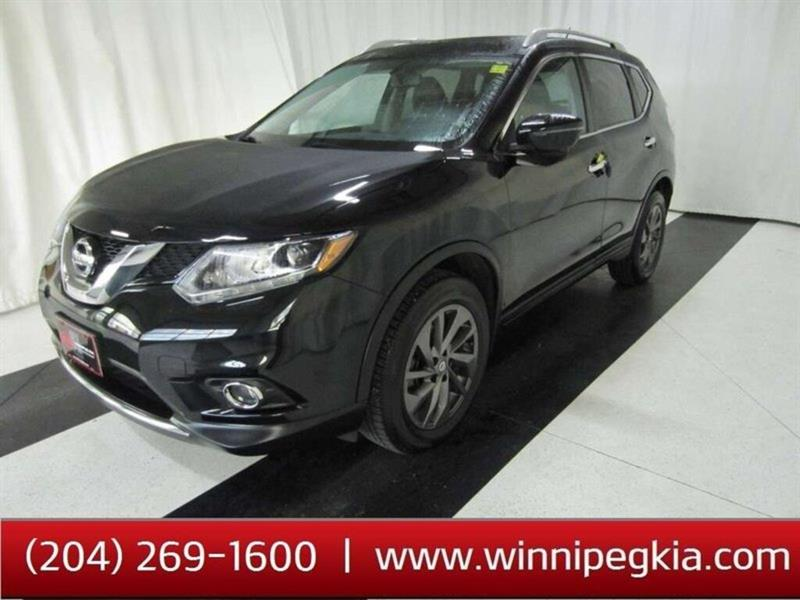 2016 Nissan Rogue SL 360 CAMERA, NAV *Accident Free, Always Owned In #20SP489B
