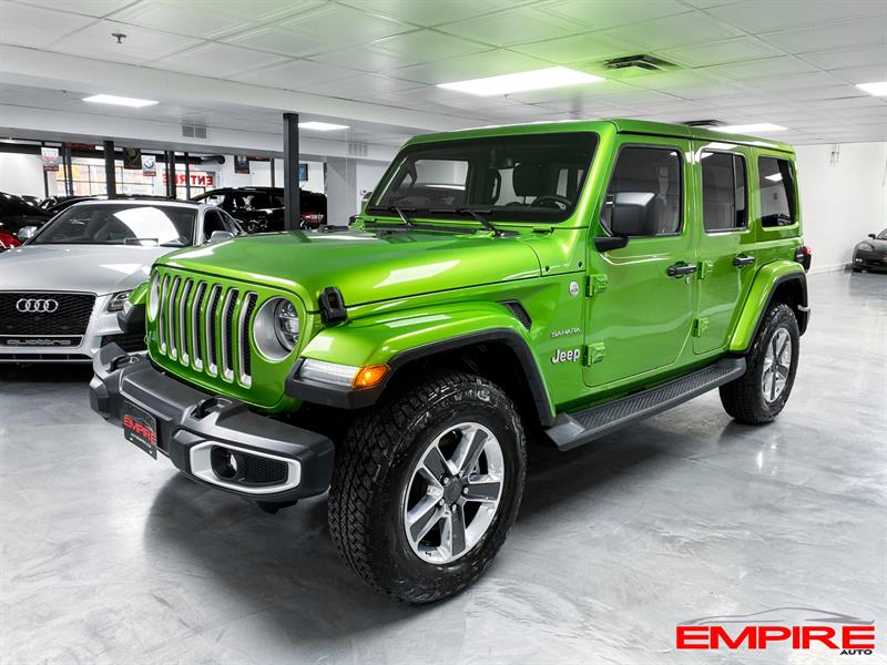 Jeep Wrangler Unlimited 2019 SAHARA CUIR AUTOMATIQUE #A7491