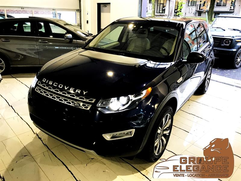 2017 Land Rover Discovery Sport HSE LUXURY AWD 7 PASSANGER PANO ROOF NAVI