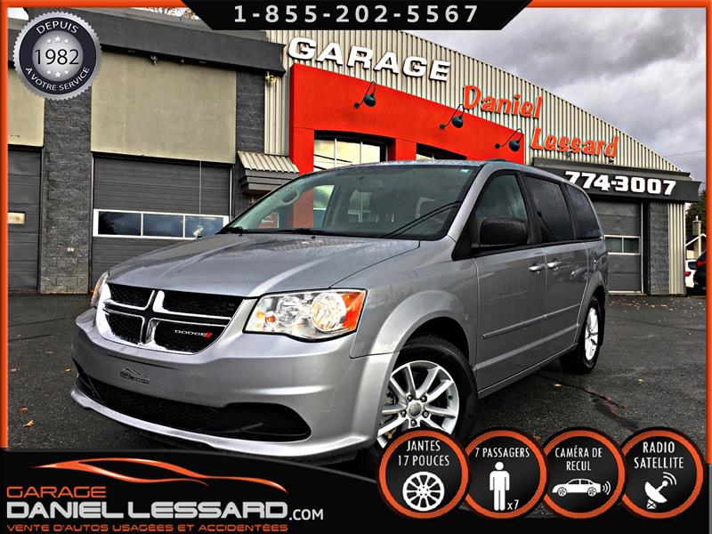 Dodge Grand Caravan 2015 SXT, TV DVD, GPS, CAM RECUL V6.3.6 L #59627