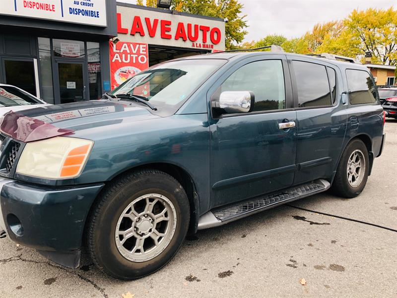 2004 Nissan Pathfinder Armada >> 2004 Nissan Pathfinder Armada 8 Passagers 4wd Auto